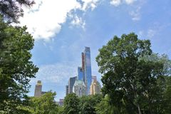 Central Park, New York royalty-vrije stock foto's