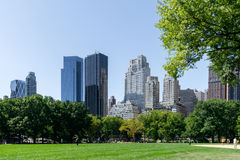 Central Park in New York Royalty-vrije Stock Afbeeldingen