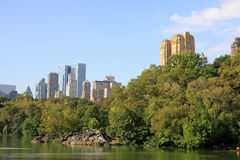 Central Park in New York. Aview of Central Park in New York city Royalty Free Stock Photos