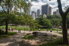Central Park New York City Royalty Free Stock Photos