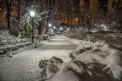 Central Park, New York City Imágenes de archivo libres de regalías