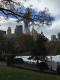 Central Park a New York City Fotografia Stock