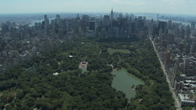 Central Park New York City stock video footage
