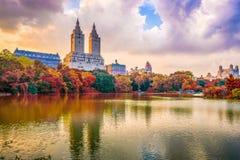Central Park New York City imagen de archivo