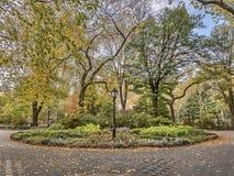 Central Park, New York City autumn. Central Park, New York City  in autumn with fall foliage Stock Photos
