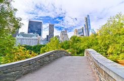 Central Park in New York City in autumn Stock Image
