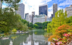 Central Park in New York City in autumn Royalty Free Stock Photography