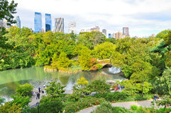Central Park in New York City in autumn Royalty Free Stock Images