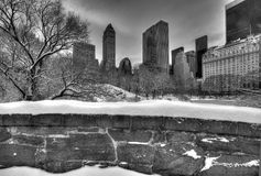 Central Park, New York City Gapstow bridge Royalty Free Stock Images