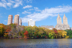 Central Park in New York City Manhattan Royalty Free Stock Image