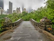 Central Park, New York City na mola imagem de stock royalty free