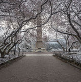 Central Park, New York City obelisk Royalty Free Stock Images