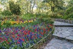 Central Park, New York City Shakespeare Garden Stock Photos