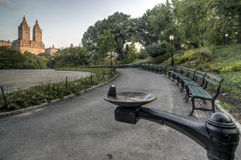 Central Park, New York City summer Royalty Free Stock Photos