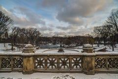 Central Park, New York City Bethesda Terrace Royalty Free Stock Photos