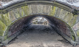 Central Park, New York City tunnel Stock Images