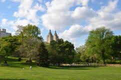 Central Park New York City, USA Arkivfoton