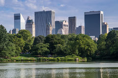 Central park royalty free stock photography