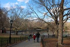 Central Park, New York City, USA Royalty Free Stock Image