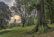 Central Park New York City vår Arkivbild