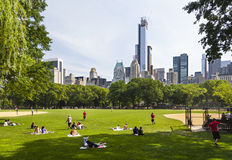 Central Park in New York, editorial Stock Photos