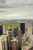 Central Park, New York from a high view Royalty Free Stock Photography