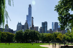 Central Park in New York Stock Images