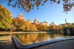 Central Park no outono Fotos de Stock