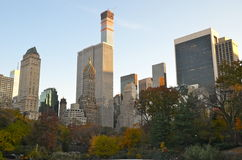 Central Park am 10. November 2014 in Manhattan, New York City, USA Stockbild