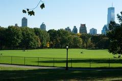 Central Park a novembre Immagini Stock Libere da Diritti