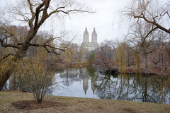 Central Park NYC. Central Park at the beginning of spring Stock Photos