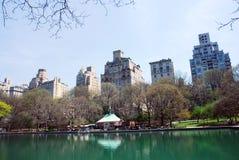 Central Park NYC na mola Imagens de Stock Royalty Free