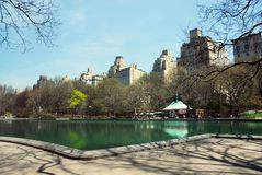Central Park NYC in spring Royalty Free Stock Images