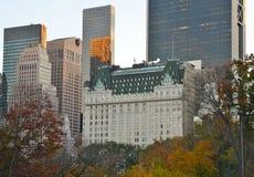Central Park op 10 November, 2014 de Stad in van Manhattan, New York, de V.S. Stock Afbeeldingen