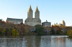Central Park op 15 November, 2014 de Stad in van Manhattan, New York, de V.S. Stock Fotografie