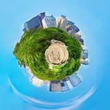 Central Park Planet (New York) royalty free stock image