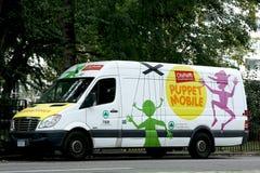 Central Park proche mobile de marionnette à Manhattan Photographie stock