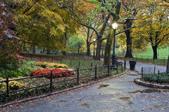 Central Park after rain storm Royalty Free Stock Photography
