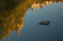 Central Park Reflections Stock Photo