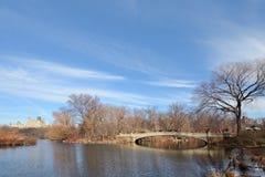 Central Park reservoir Stock Images