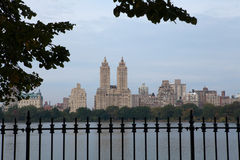 Central Park Reservoir and El Dorado Royalty Free Stock Images