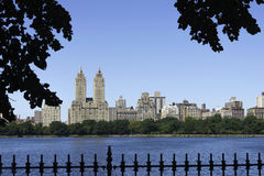 Central Park Reservoir Stock Photography