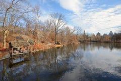 Central Park-Reservoir, NY Stockfoto