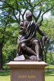 Central Park Robert Burns Manhattan New York Royalty Free Stock Images