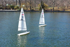 Central Park Sailing Royalty Free Stock Photography