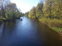 Central Park in San Pietroburgo Immagini Stock