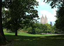 Central Park - San Remo stockbild