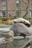 Central Park Seal Royalty Free Stock Image