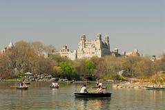 Central Park See, New York Stockbilder