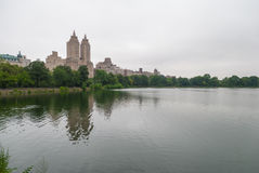 Central Park See, NYC lizenzfreies stockbild